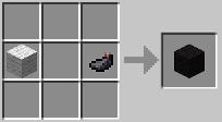 Черная шерсть minecraft