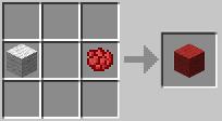 Красная шерсть minecraft