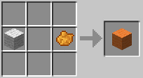 Оранжевая шерсть minecraft