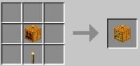 светильник Джека minecraft