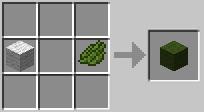 Зеленая шерсть