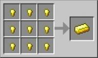 золотой слиток minecraft