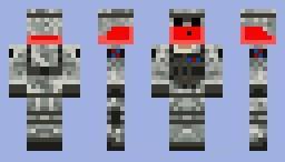 Скин слизня пехотинца для minecraft