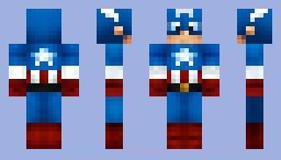 Скин Капитана Америки для minecraft