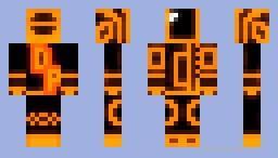 Скин Duft Punk'а для minecraft